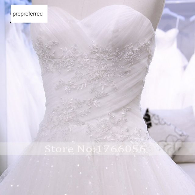 Fmogl Vestido De Noiva Strapless Pleat Wedding Dress 2019 Sexy Backless Appliques Beaded Voile A Line Vintage Bridal Gown