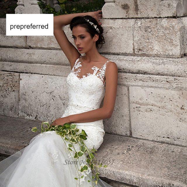 Vestidos de novia Vestido de boda encaje vestidos de novia colección 2019